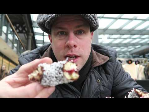 Crosstown Doughnuts London + Australia Day 2016 Lamington cakes