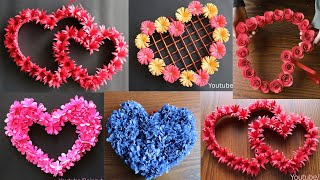 5 Beautiful Paper Flower Wall Hanging  Easy Wall Decoration Ideas   Paper Craft   Diy Wall Decor