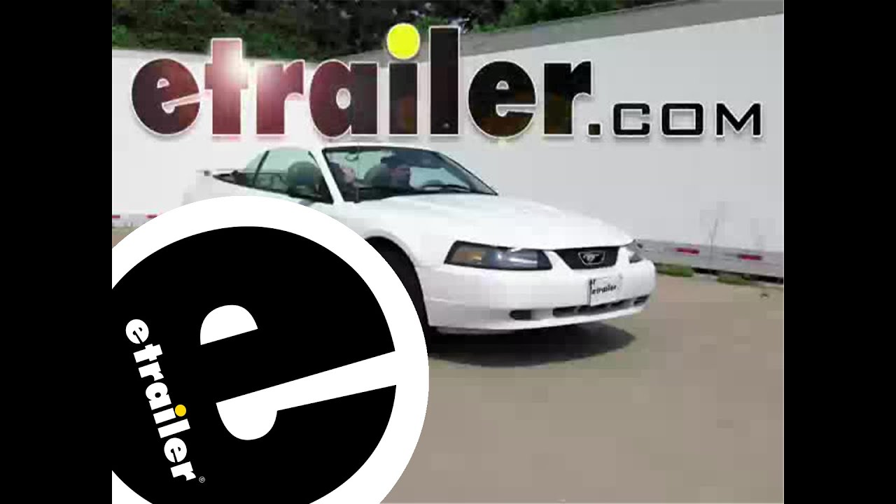 hight resolution of trailer wiring harness installation 2004 ford mustang etrailer com