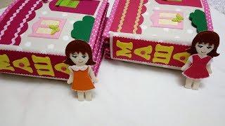 Книжки-близнючки. Лялькові будиночки 8 і 9(р. Краснодар) #Soft book.Doll house.