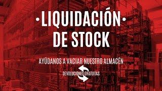 LIQUIDACIÓN DE STOCK· Ayudanos a vaciar nuestro almacen