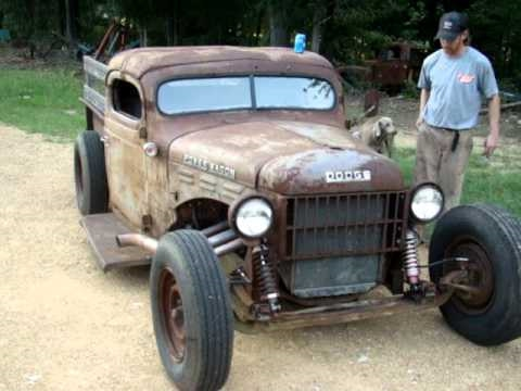 1940 Ford Pickup Trucks For Sale 1946 Dodge Rat Rod - YouTube