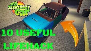 10 NEW useful LIFEHACK - My Summer Car #80