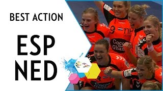 Netherlands reach their first EHF EURO Semi-final | Spain vs Netherlands | EHF EURO 2016