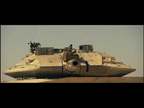 Tanque MERKAVA 4 - El Leon Del Desierto - Israel