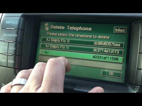 Lexus LS 430 Bluetooth phone fix