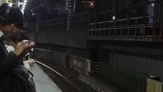 E657系特急ときわ84号「品川行き」新橋駅通過