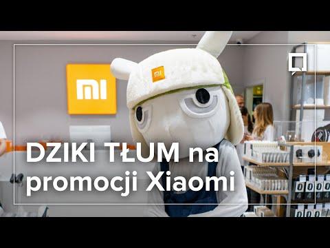 Start promocji w salonie Xiaomi w Warszawie. Tłum oszalał