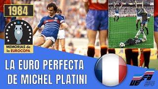 EURO 1984 Platini hace Campeón a FRANCIA vs España Historia de la Eurocopa