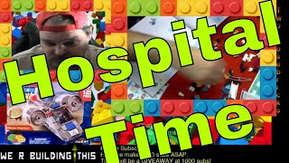 LIVE Building the LEGO Friends Hospital - come and chat