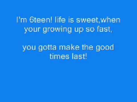 6teen lyrics