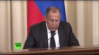 Сергей Лавров и глава МИД Египта подводят итоги переговоров