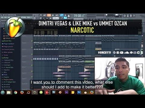 Narcotic (Dimitri Vegas & Like Mike vs Ummet Ozcan) FLP PREVIEW