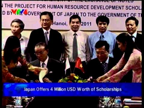 Japan grants 329 million JPY to Vietnam for human resource development