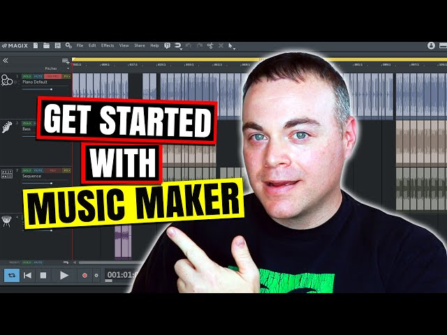 How to Make Music With Magix Music Maker 2020 Tutorial