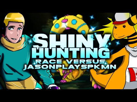"""SHINY HUNTING RACE VS JASONPLAYSPKMN!"" - Pokemon Omega Ruby Alpha Sapphire Livestream"