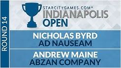 SCGINDY - Round 14 - Nicholas Byrd vs Andrew Maine