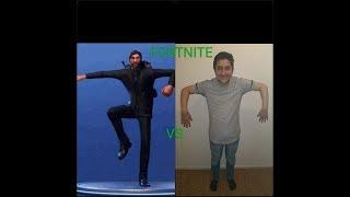 Fortnite Dances in Real Life - Saison 5