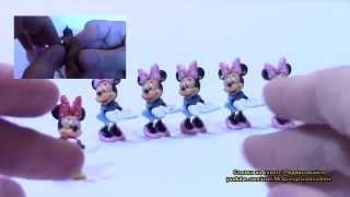 Минни Маус в шоколадных яйцах игрушки для детей выпуск 1 для девочек Мистер Желтая губка