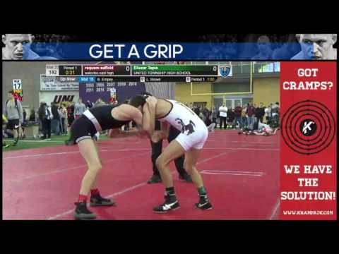3549 Cadet 106 Mat 22 Dominic Martinez Green River Grapplers vs Ben Lunn Purler Wrestling Academy oe