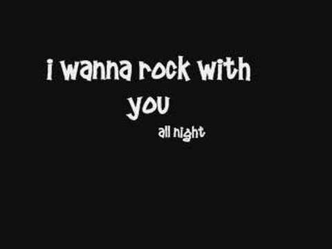 Michael Jackson  Rock With You  Lyrics