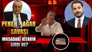 Sedat Peker -Mehmet Ağar savaşı başladı / Masadaki kitabın sırrı ne?