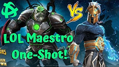Labyrinth Maestro One-Shot! Aegon 999 Combo! - Marvel Contest of Champions