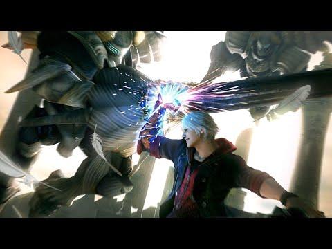 Devil May Cry 4 Special Edition - DMD - Nero vs Sanctus Diabolica (2nd Fight, No Damage)  