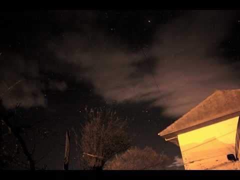 Corona Borealis constellation - Astronomy time-lapse