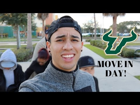 MOVING INTO COLLEGE! / USF