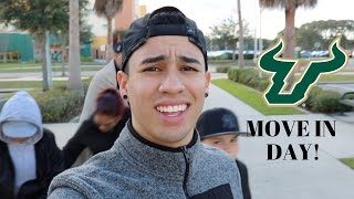 moving into college usf