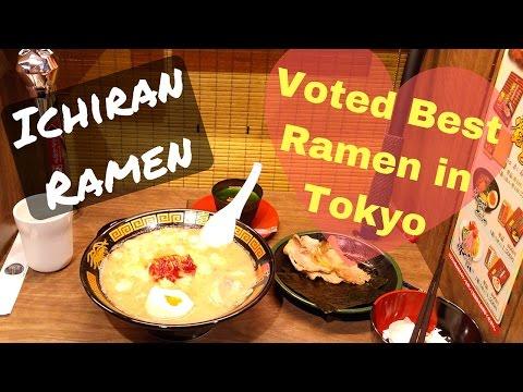 Ichiran Ramen - Voted Best Ramen in Tokyo, is it really?
