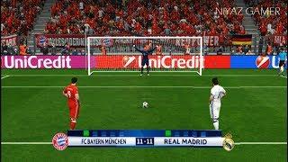 BAYERN MUNICH vs REAL MADRID   Penalty Shootout   PES 2017 Gameplay   UEFA Champions League