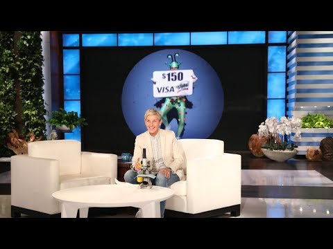 You'll Never Believe What Ellen Found on Her Stage!