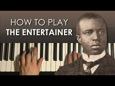 How To Play - THE ENTERTAINER - By Scott Joplin (PIANO TUTORIAL LESSON)