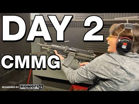 CMMG Factory Tour - The Road to Shot Show Day 2!