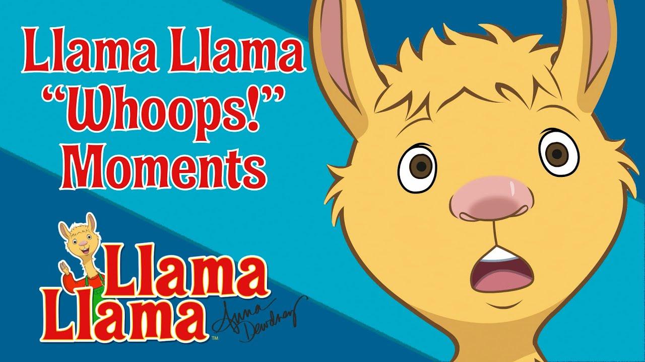 Llama Whoops Moments Compilation | Llama Llama