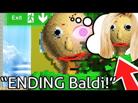 Baldi's Basics ENDING & SECRET WIFE! - Baldi's Basics in Education and Learning (Ending Gameplay)