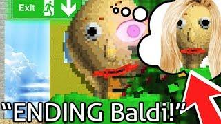 Baldi's Basics ENDING & SECRET WIFE! - Baldi's Basics in Education and Learning (Ending Gameplay)