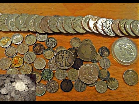 SILVER HOARD BOUGHT AT ESTATE SALE!! I Made $500 With $100!! COIN ROLL HUNTING SUCCESS STORY