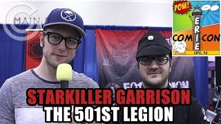 Starkiller Garrison Officer From The 501st Legion | Comicon Erie