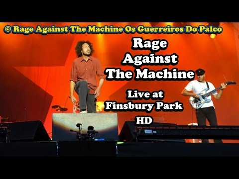 Rage Against The Machine Live at Finsbury Park HD Full Concert