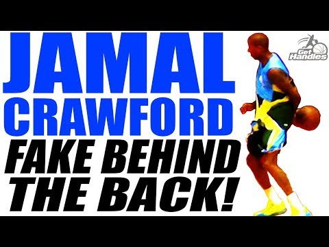 How To: Jamal Crawford SICK Fake Behind The Back Dribble + Combos!