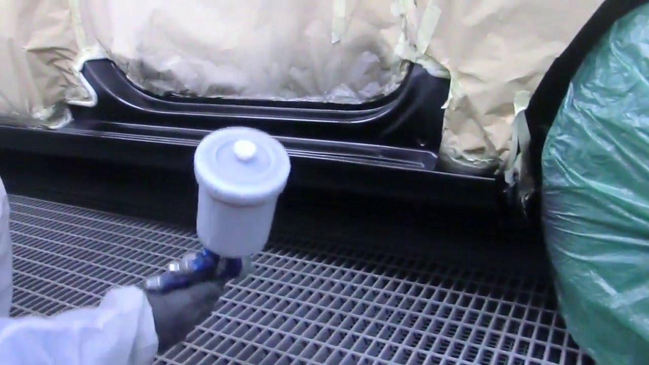 покраска порогов skoda