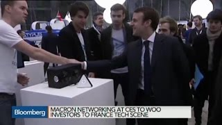 French Tech Start-Ups Push for Investor Funds at CES