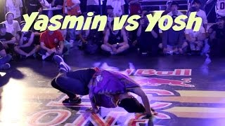 Top 4. Bgirl yasmin vs. Yosh Is Stoic. Red Bull BC One Japan (Neyagawa) 2016
