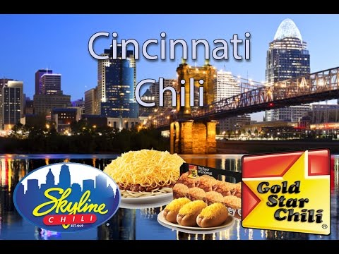 Cincinnati Style Chili - The Chili War!!!