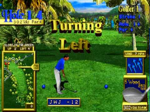 M A M E  - Golden Tee Classic [v1 00] - Anchor Cove [Least Amount Of