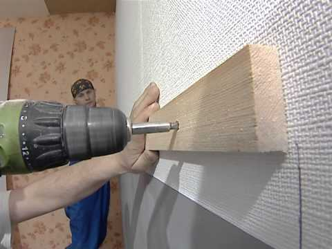 покраску на потолке кухни под обои
