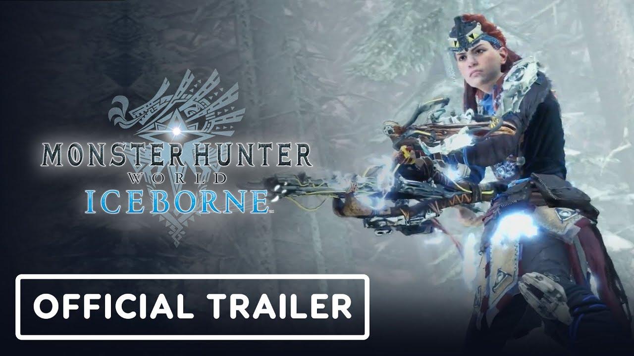 MHW: Iceborne x Horizon Zero Dawn: Der Teaser-Trailer zur Frozen Wilds - Gamescom 2019 + video